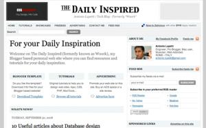 Blogspot mag tpl screenshot
