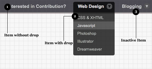 Incredible-Drop-Down-Menu-With-CSS-Only