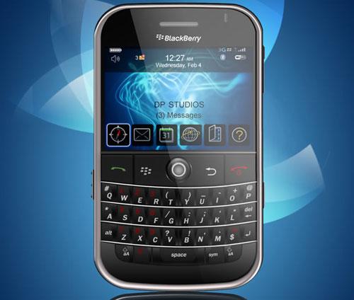 psd blackberry bold