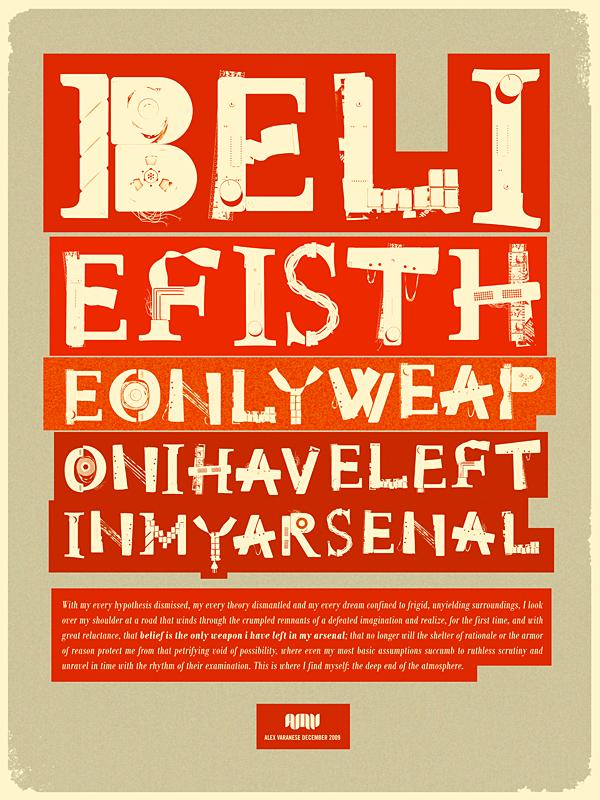 retour de la typographie
