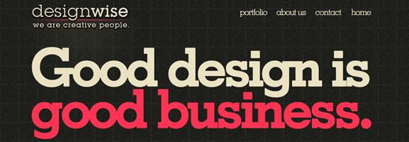 dark website design