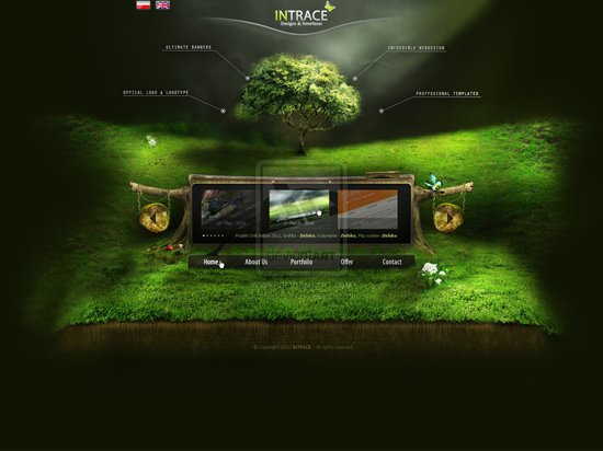 tendances web design 2010