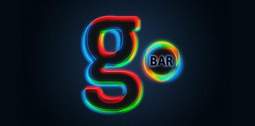 g bar logo