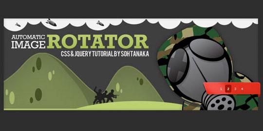 automatic image rotator jquery