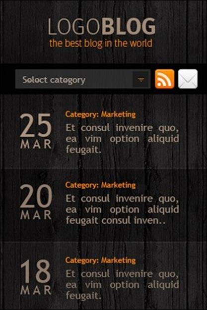 theme mobile wordpress
