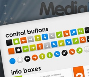 Massive-web-UI-button-set