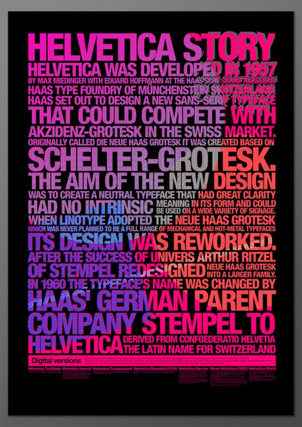 design typographique