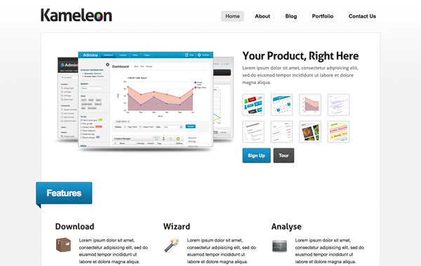 Kamelon wordpress theme premium