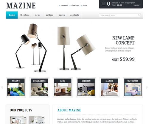 mazine theme wordpress