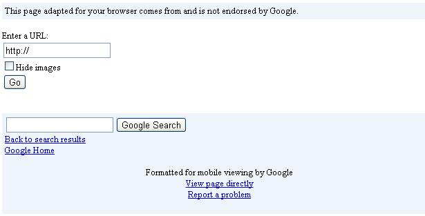 google mobile testing