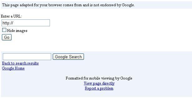 google mobile testing