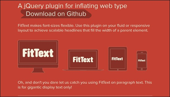 jquery plugin flexible layout